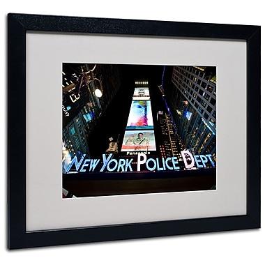 Trademark Fine Art 'NYPD In Blue Neon' 16