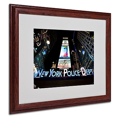 Trademark Fine Art 'NYPD In Blue Neon' 16