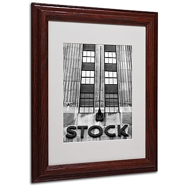 Trademark Fine Art Wall Street STOCK' 11
