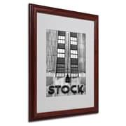 Trademark Fine Art 'Wall Street STOCK'