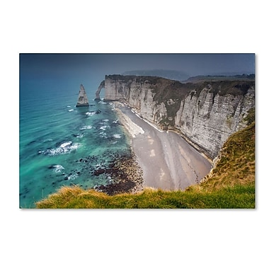 Trademark Fine Art 'Etretat In the Fog'