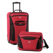 American Tourister® Fieldbrook II 56446 2-Piece Luggage Set, Red/Black
