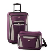American Tourister® Fieldbrook II 56446 2-Piece Luggage Set, Purple/Gray