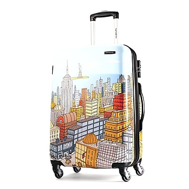 Samsonite® Cityscapes 20in. Hardsided Spinner Suitcase, Blue Print