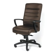 Eurotech High Back Leather Executive Chair Brown