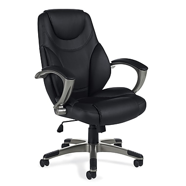 Offices To Go® Brighton High Back Tilter Office Chair, Black