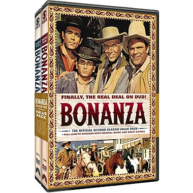 Bonanza: The official Second Season, Volumes One and Two (DVD)