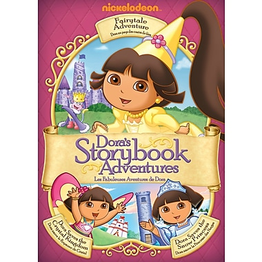 Dora The Explorer: Dora's Storybook Adventures (DVD)