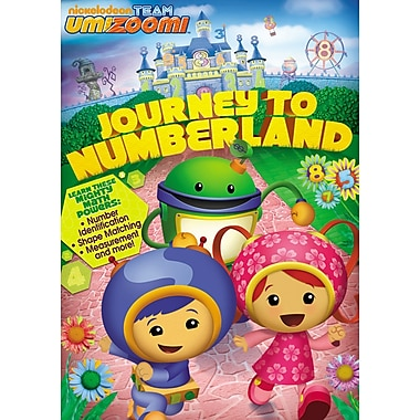 Team Umizoomi: Journey To Numberland (DVD)