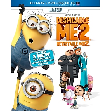 Despicable Me 2 (Blu-Ray/ DVD/Digital Copy)