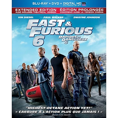 Fast and Furious 6 (Blu-ray/DVD/Digital Copy)