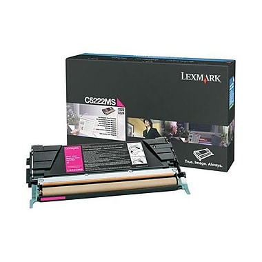 Lexmark – Cartouche de toner magenta C522/524(C5222MS), Standard