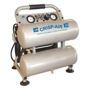 Crisp-Air – Compresseur sans huile à double réservoir