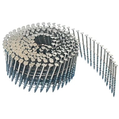 Crisp-Air Coil Nails, Spiral Hot Dip Galvanized, 2-1/2