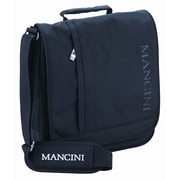"""Mancini 10.1"""" Unisex Laptop/Tablet Messenger Bag With RFID Secure Pocket, Black"""