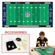 Zelosport NFL Licensed Finger Football Game Mat; St. Louis Rams