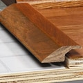 Moldings Online 0.34'' x 1.5'' Solid Hardwood White Oak Overlap Reducer in Unfinished