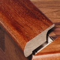 Moldings Online 0.34'' x 2'' Solid Hardwood Maple Overlap Stair Nose in Unfinished