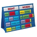 Patch Products Sight Words Tabletop Pocket Chart