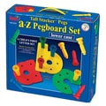 Patch Products Tall - Stacker Pegs A - Z Pegboard Set (Lowercase)
