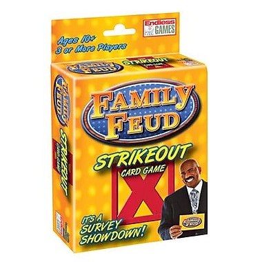 EndlessGames Family Feud Strike Out Card Game