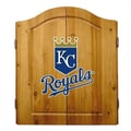 Imperial MLB Team Logo Complete Dart Cabinet Set; Kansas City Royals