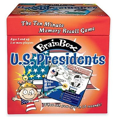 MindWare Brain Box: US Presidents Card Game