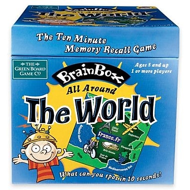 MindWare Brain Box: All Around the World Card Game