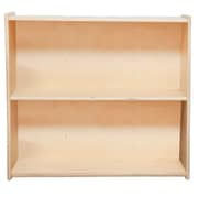 "Wood Designs™ Contender™ 27 1/4""(H) Fully Assembled Plywood Bookshelf, Birch"
