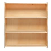 "Wood Designs™ Contender™ 33 7/8""(H) Fully Assembled Plywood Bookshelf, Birch"