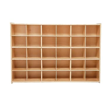 Wood Designs™ Contender™ Fully Assembled 30 Tray Storage Without Trays, Baltic Birch