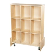 Wood Designs™ Ready-To Assemble Roll and Write Storage Unit