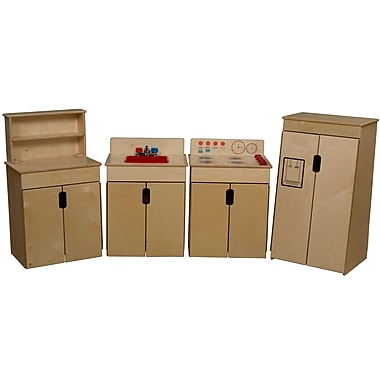 Wood Designs™ Tip-Me-Not™ Plywood 4 Set Appliances