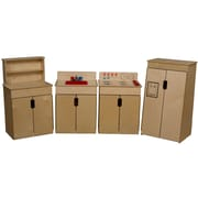 Wood Designs™ Tip-Me-Not™ Plywood 4 Set Appliances