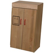 Wood Designs™ Dramatic Play Plywood Refrigerator, Maple