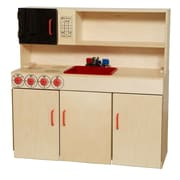 Wood Designs™ Dramatic Play Plywood 5-N-1 Kitchen Center