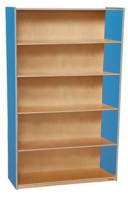 Wood Designs Storage 60(H) Fully Assembled Plywood Bookshelves
