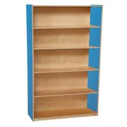 "Wood Designs™ Storage 60""(H) Fully Assembled Plywood Bookshelves"