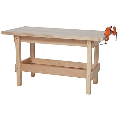 Wood Designs Early Childhood Playtime 44'' Rectangular Table, Birch (WD13400)