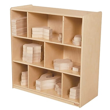 Wood Designs™ 36in. x 36in. Plywood Block Center and Storage Kit
