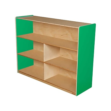Wood Designs™ Storage 36in.H Versatile Shelf Storage, Green Apple