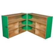 "Wood Designs™ Storage 36""H Folding Versatile Storage, Green Apple"