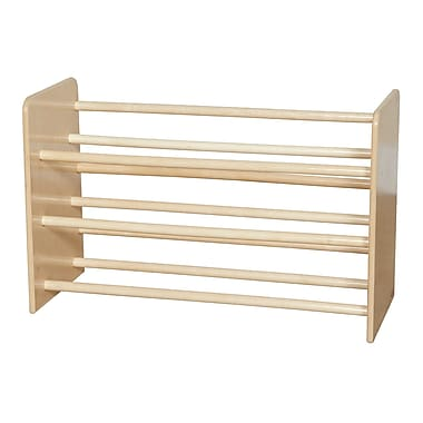 Wood Designs™ See-All Storage Without Trays, Birch