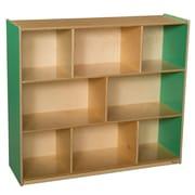 Wood Designs™ Storage 42H Mobile Storage Unit, Green Apple