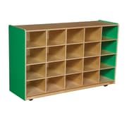 Wood Designs 20 Tray Storage Without Trays, Green Apple