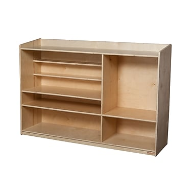Wood Designs™ Sensorial Shelving, Birch