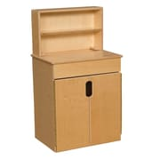 Wood Designs™ Dramatic Play Plywood Tip-Me-Not™ Deluxe Hutch
