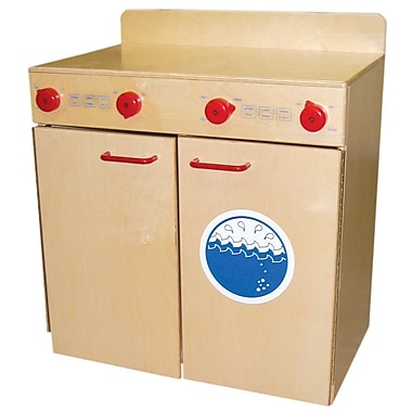 Wood Designs™ Dramatic Play Plywood Laundry Center