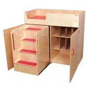 Tot Furniture™ Deluxe Infant Changing Tables With Safety Steps