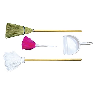 Wood Designs™ Dramatic Play Cleaning Tools Only Housekeeping Station